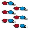 Red Blue Goggles - Elastic