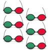 Red Green Goggles - Reversible