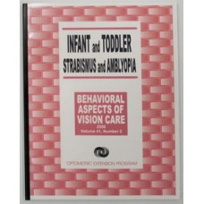 Behavioural Aspects of Vision Care - Infant & Toddler Strabismus & Amblyopia