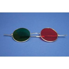 Red Green Glasses - Reversible